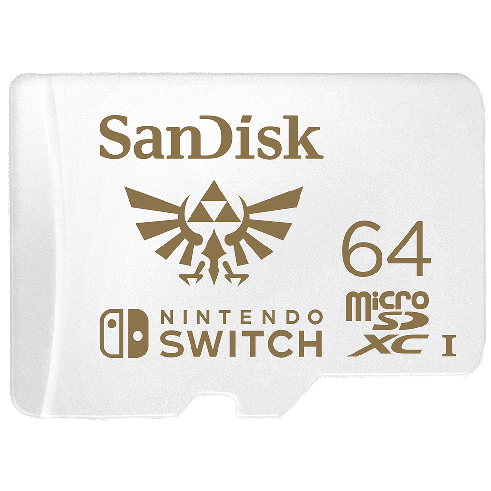 "SanDisk <i class=""no-caps"">microSDXC</i> Cards for Nintendo Switch"