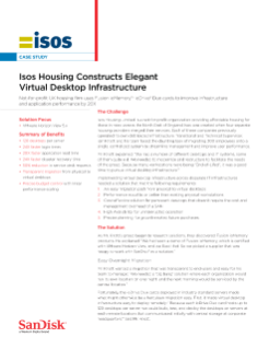 Isos Housing Constructs Elegant VDI Solution