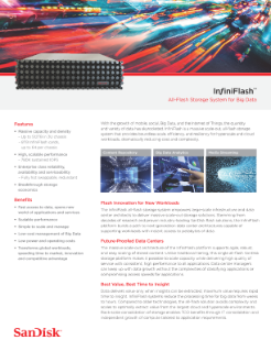 InfiniFlash IF150 platform