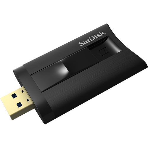 SanDisk Extreme PRO<sup>®</sup> SDHC™/SDXC™ UHS-II Card Reader/Writer